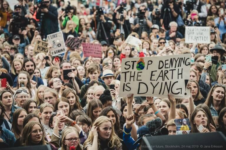 Fridays for future demostration